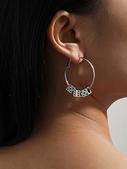 Create Dice Design Vintage Women Earrings
