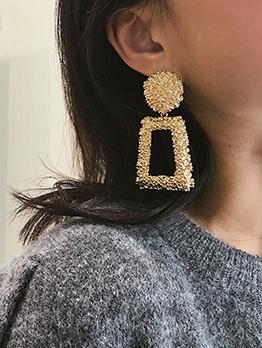 Business Temperament Geometry Long Earrings
