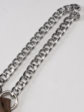 One Shoulder Chain Strap Crop Camisole