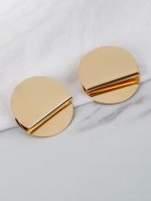 Business Easy Match Geometry Stud Earrings