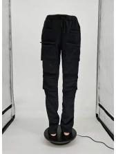 Pockets High Waist Cargo Pants For Street