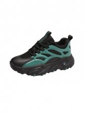 Sporty Height Increasing Running Shoes For Women