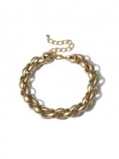 Trendy Retro Thick Street Ladies Necklace