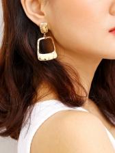 Easy Match Trendy Geometry Earrings