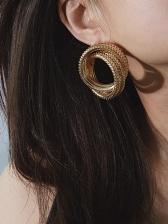 Business Ladies Versatile Geometry Earrings