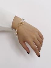 Contrast Color Design Stylish Alloy Material Bracelet