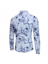 Popular Print Long Sleeve Shirts For Men