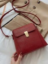 Vintage Stone Pattern Shoulder Bags