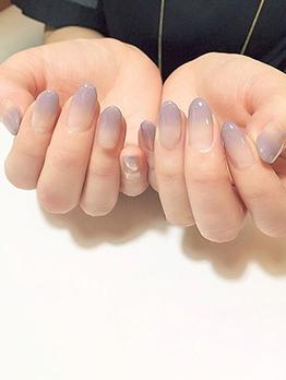 Gradient Color 24 Pieces False Nail Patch