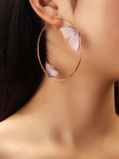 Stereo Butterfly Sweet Earrings For Ladies