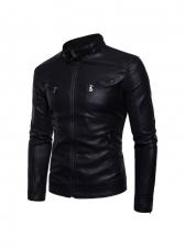 New Solid Long Sleeve Plush Jacket