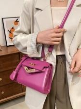 Chic Design PU Ladies Shoulder Bags
