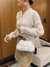 Vintage Lace Chain Designer Handbags