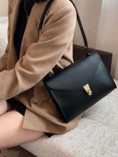 Vintage Solid Designer Shoulder Bags