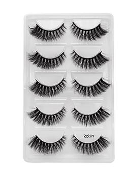 5 Pieces Pack Natural Thick False Eyelashes