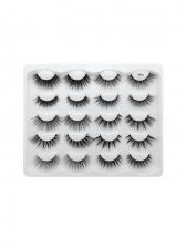 10 Pieces Pack Natural Dense False Eyelashes