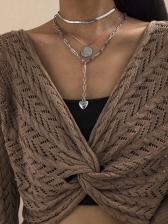 Vintage Heart Pendant Necklace For Women