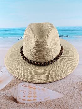 Latest Summer Beach Sun Hat Women Jazz Hat