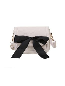 New Bow Patchwork Design Shoulder Bags
