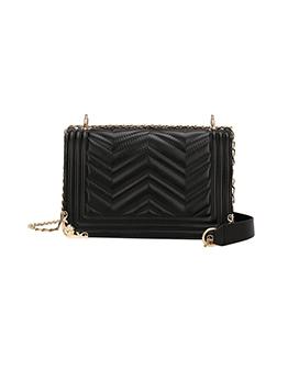 New Striped Chain Designer Shoulder Bags