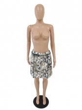 Camouflage Women Pencil Plus Size Skirts