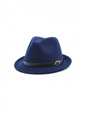 Stylish Autumn Jazz Vintage Fedora Hats