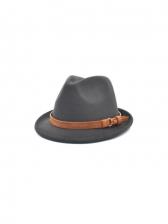 British Style Simple Unisex Fedora Hat