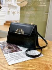 Fashion Plaid Patchwork Ladies Shoulder Bags