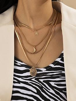 Unique Personality Fashion Simple Pendant Necklace