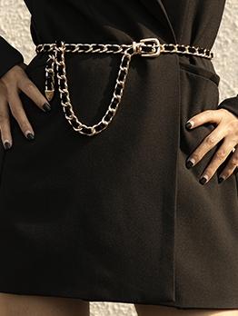 Street Fashion Simple Clothing Accessories Waist Chain