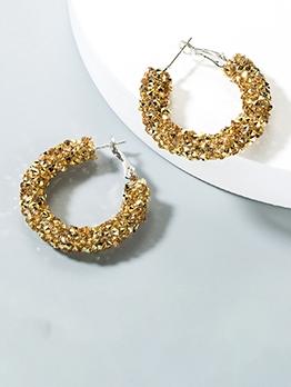 C-Shape Vogue Korean Style Earrings