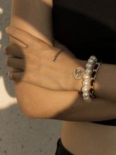Retro Style Faux-Pearl Bracelet Sets