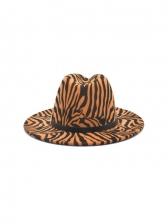 Fall Winter Vintage Fedora Hat Travel Cap