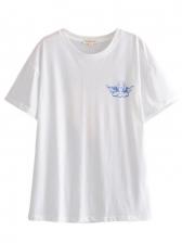 Street Wear Printed Slim Fit T Shirts