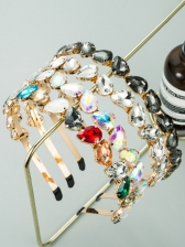 Korean Full Rhinestone Trendy Hair Hoop