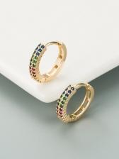 Easy Matching Zircon Women Earrings