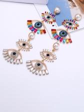 EurAmerican Latest Vintage Devil's Eye Earrings