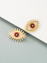 EurAmerican Retro Beads Faux-Pearl Earrings