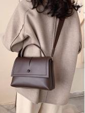 New Solid Ladies Shoulder Bag