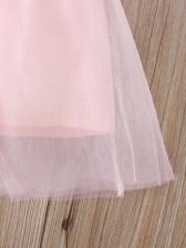 Summer Dot Patchwork Girl Casual Dresses