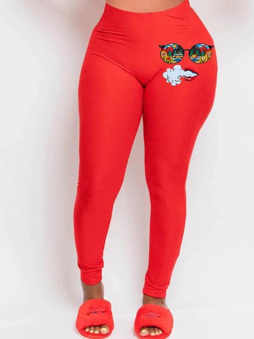 Latest Design Print High Waist Sport Pants