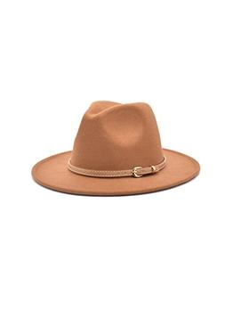 Autumn Chic Wide Brim Fedora Hat Trendy