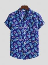 Euro Short Sleeve Printed Shirts For Men