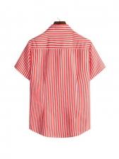 Versatile Striped Button Down Shirts For Men