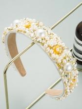 Fashion Latest Temperament Faux-Pearl Hair Hoop