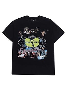 Hip Pop Printed T Shirts For Men