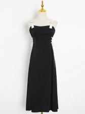 Chic Shoulder Strap Dresses For Women