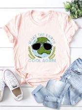 Popular Print Oversize T Shirt For Women