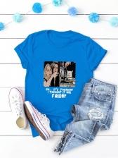 Popular Crew Neck Oversize T Shirt