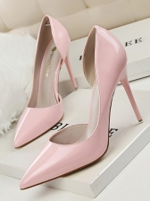 OL Style Solid Pointed Women Stiletto